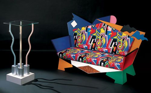 Kandissi sofa by alessandro mendini from studio for Unique design milano