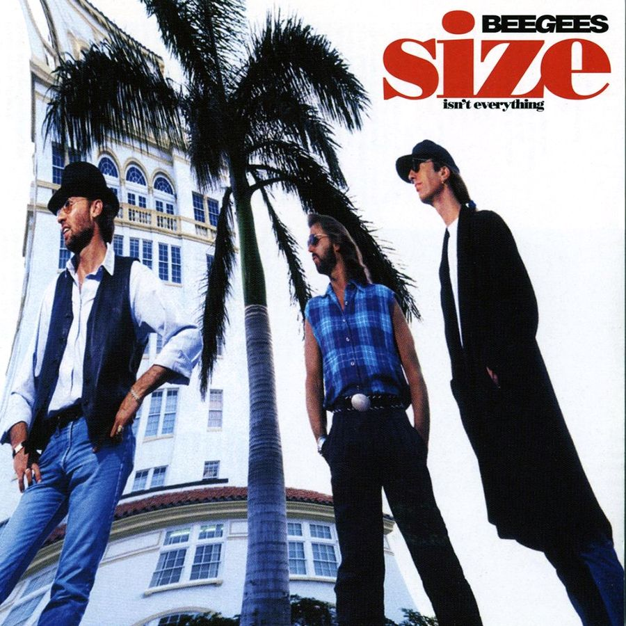 1993 Size Isn't Everything Bee Gees (With images