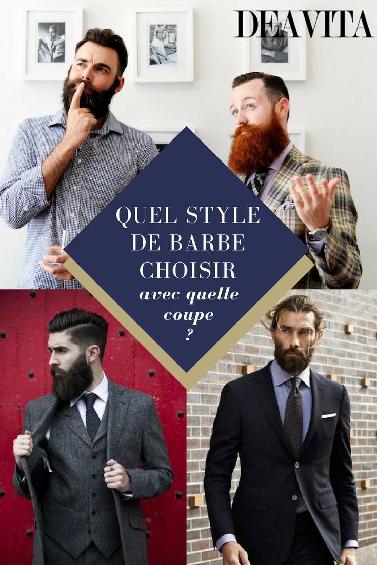 Quelle Coiffure Choisir à style de barbe choisir et à quelle coupe de cheveux l'accorder