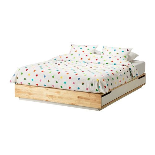 Mandal Queen Bed With Storage Ikea 399 Apartment