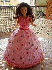 CAKES Y PATCHWORK : TARTA PRINCESA
