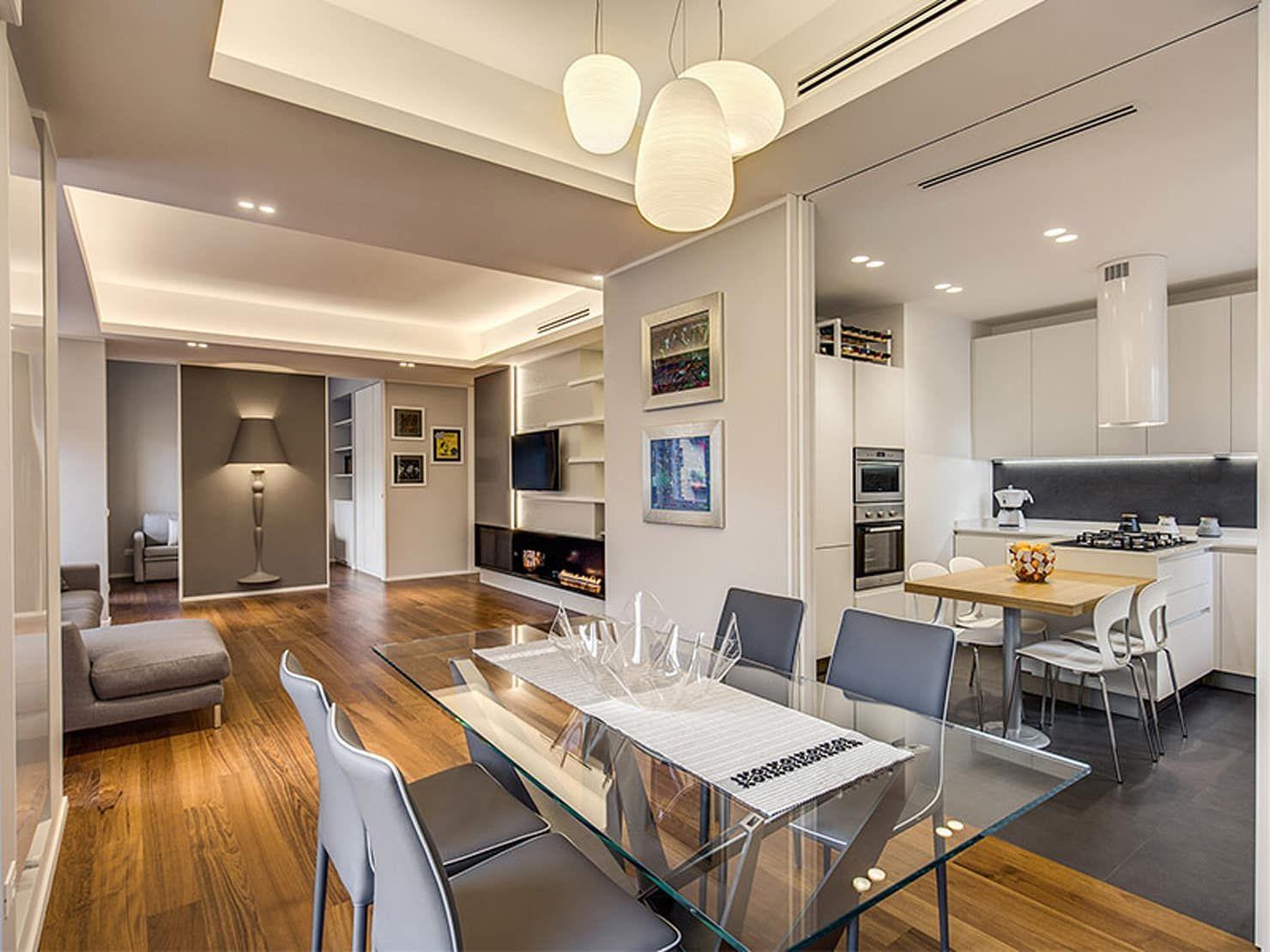 Come Dividere Sala E Cucina salotto e cucina insieme