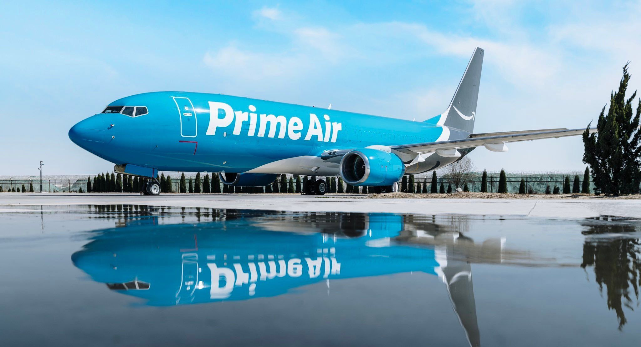Pin op Cargo Airlines Prime Air (Amazon)
