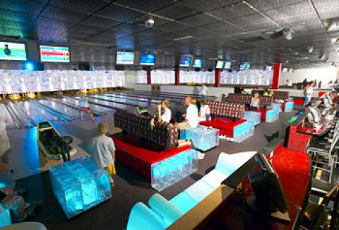 Bowling Alley At Captain S Quarters Myrtle Beach Resorts