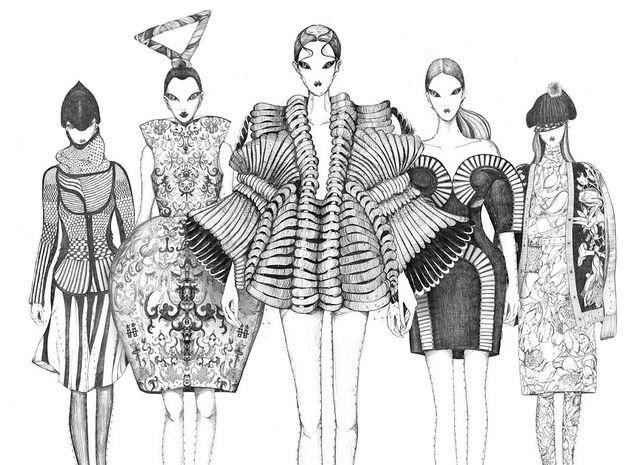 Dessins de mode (avec images) | Croquis de mode, Illustration de mode, Dessin de mode