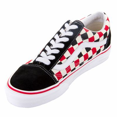 Vans Old Skool Van Doren Multi Check Black Shoe ! Buy now at GetShoes.ca 692dfea37