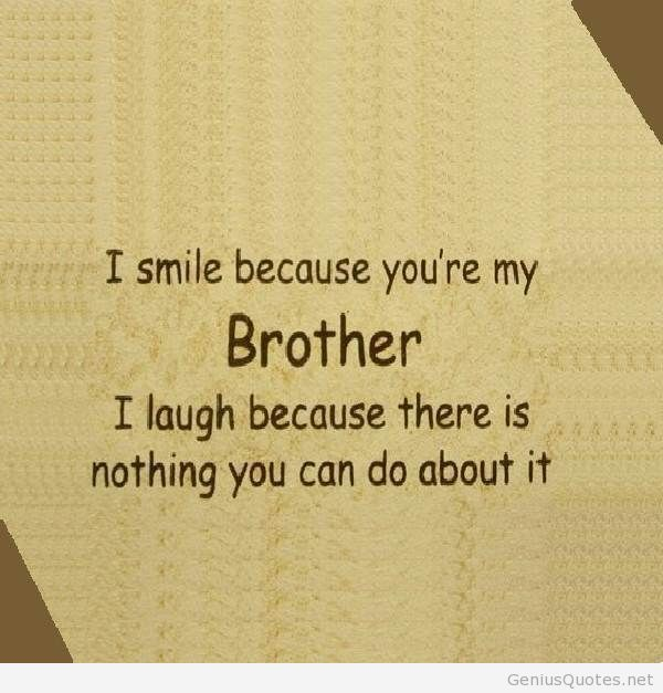 Happy Birthday Brother Funny Cute Brother Quotes Brother Birthday Quotes Sibling Quotes