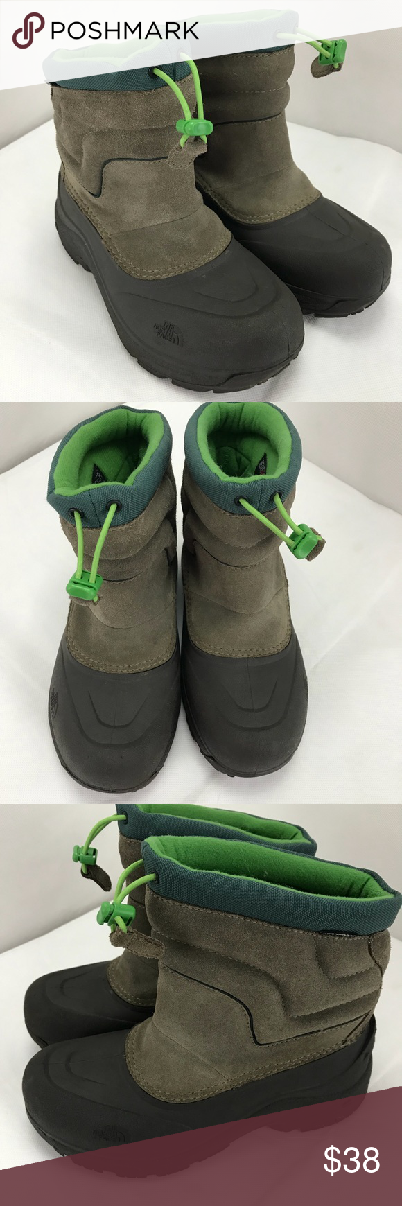 fd595331f The North Face boys heat seeker boots.‼️ EUC . Like new. Worn once ...