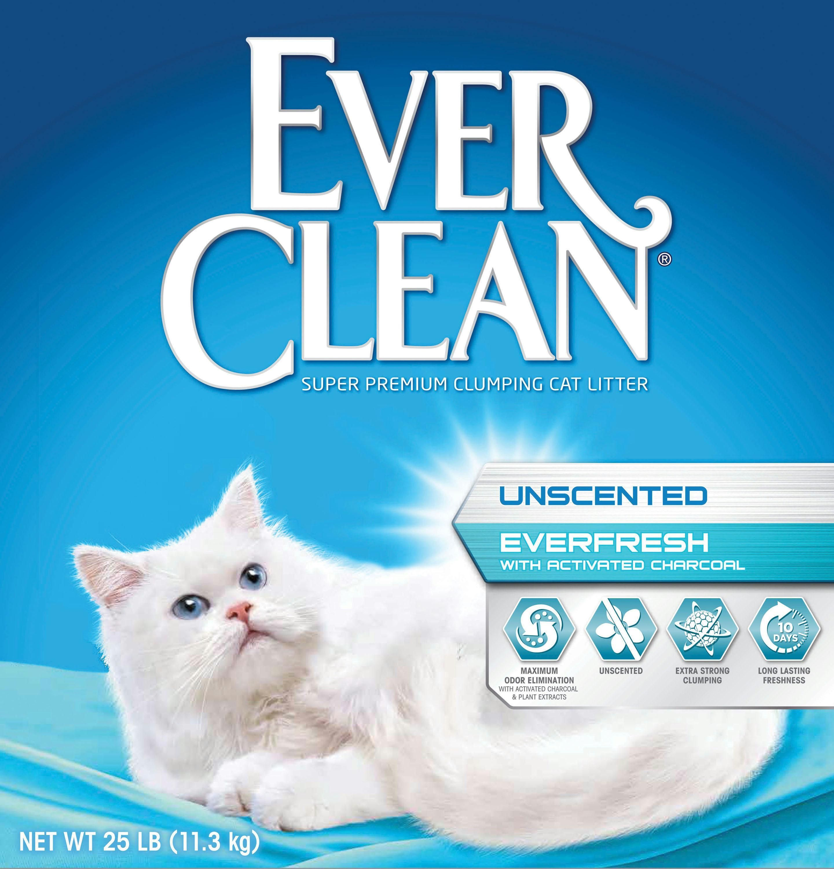 Ever Clean Everfresh Activated Charcoal Litter For Cat