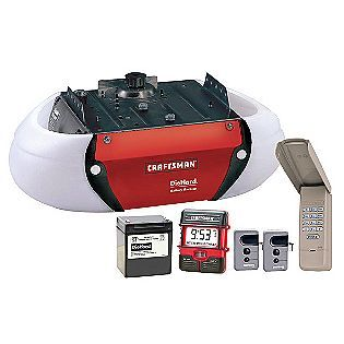 Craftsman Dc Belt Drive Garage Door Opener With Diehard Battery Back Up 223 99 4 1 2 Garage Door Opener Remote Craftsman Garage Door Opener Garage Door Motor