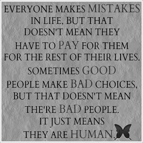 Everyone makes mistakes...