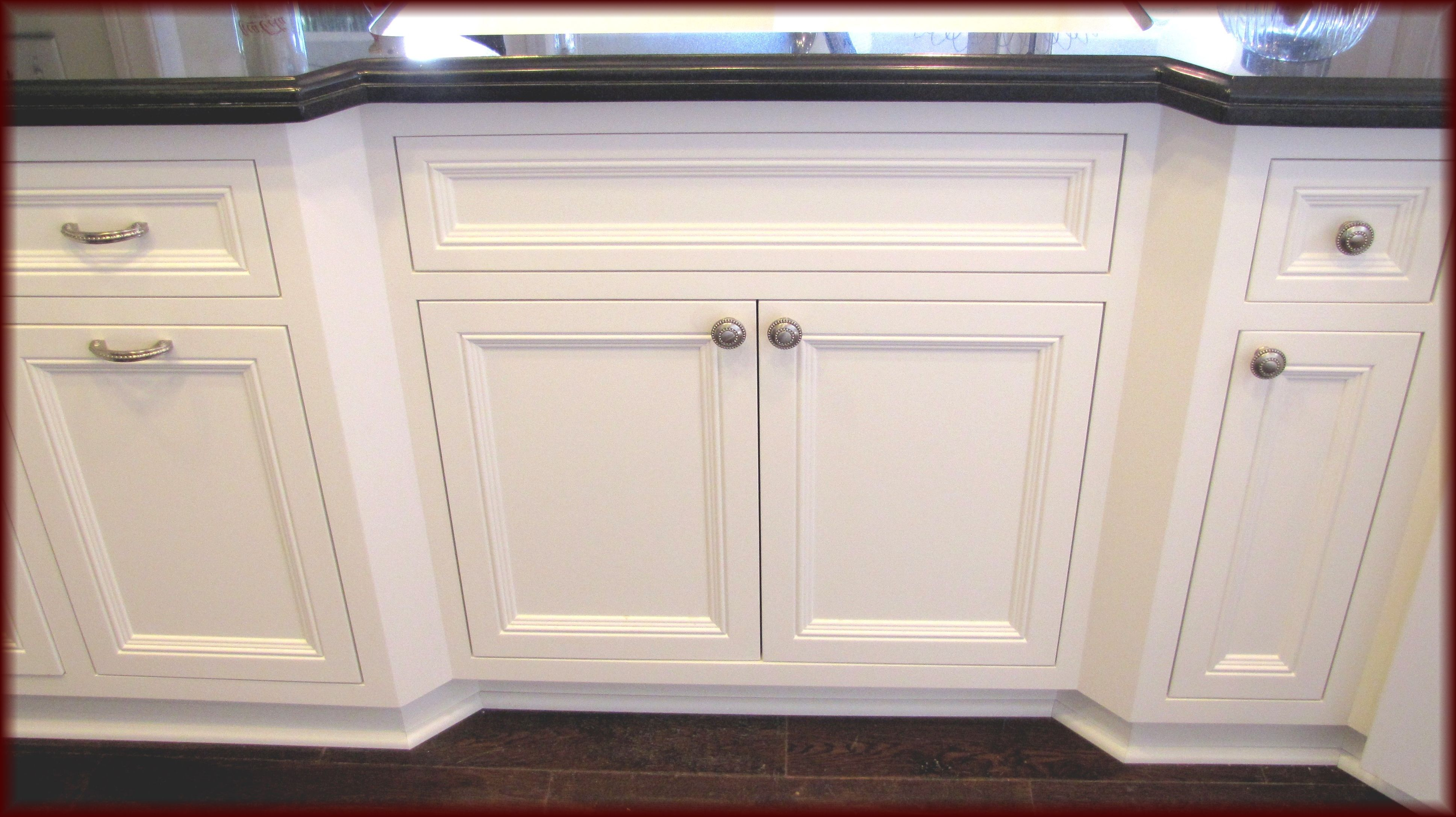 Custom Kitchen Cabinets Built In Flush Inset Style With White Finish In 2020 Finish Kitchen Cabinets Kitchen Cabinet Doors Custom Kitchen Cabinets