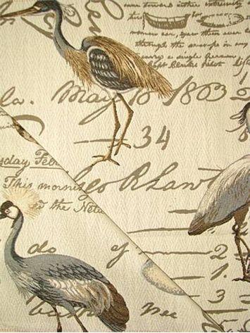 Coastal Circa Dune Coastal Fabric Tapestry Fabric Fabric Birds