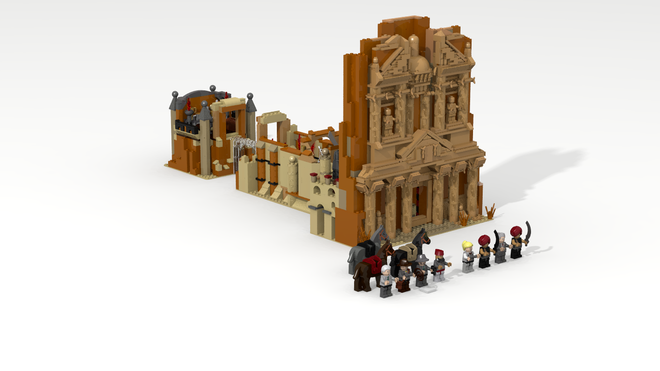 Lego Indiana Jones And The Last Crusade Temple Of The Grail Lego Indiana Jones Indiana Jones Temple