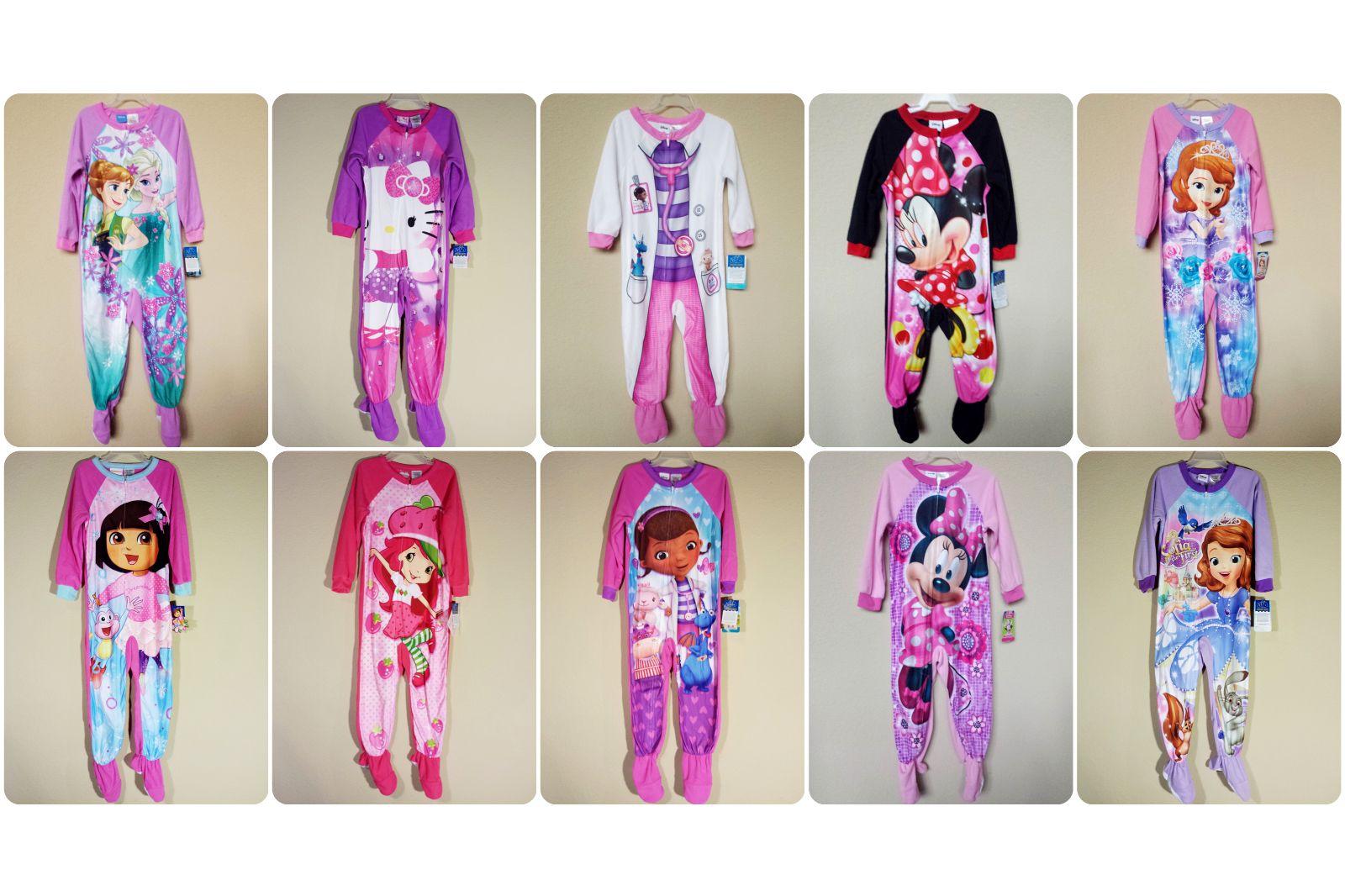 f580ea76f64a Sleepwear 147215   Nwt- Toddler Girl S Fleece Blanket Sleeper ...
