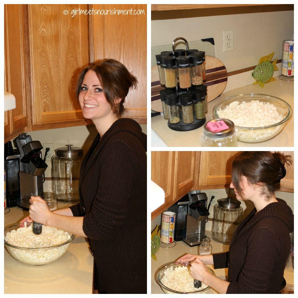 Making Lacto-Fermented Sauerkraut from Girl Meets Nourishment >> http://girlmeetsnourishment.com/gmnwordpress1/lacto-fermentation-and-sauerkraut/