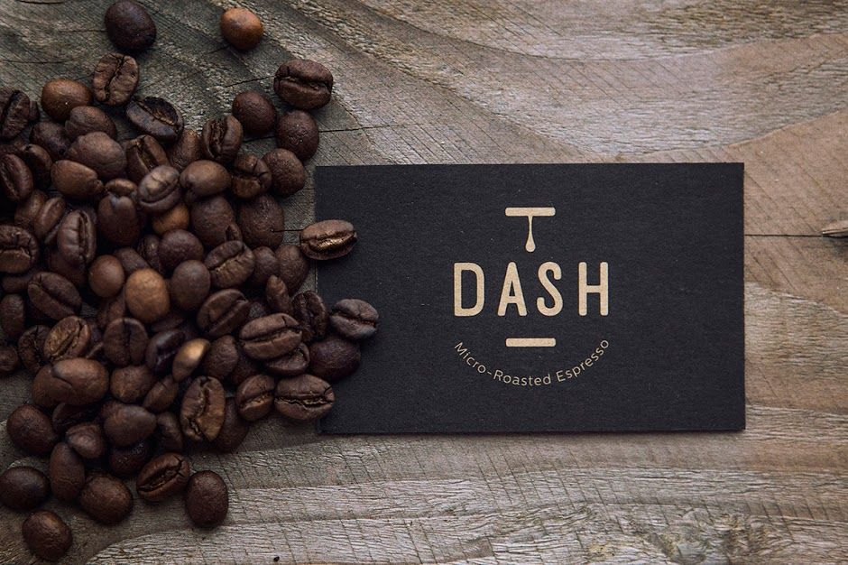 Dash Espresso Coffee Shop Names Creative Coffee Creative Packaging Design