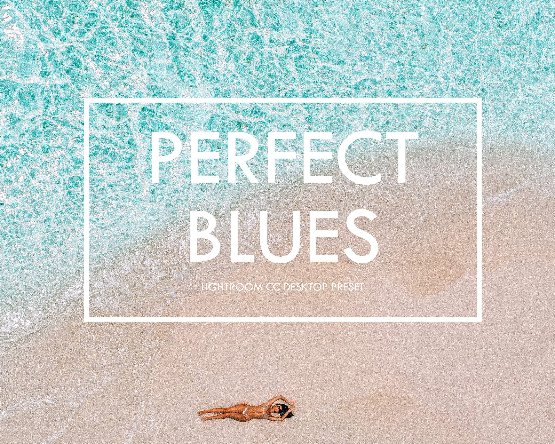 Perfect Blues 15 Lightroom Desktop Preset Maldives Blue