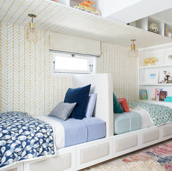 San Francisco Decorator Showcase :: Shared Girl And Boy Bedroom (Simplified Bee)