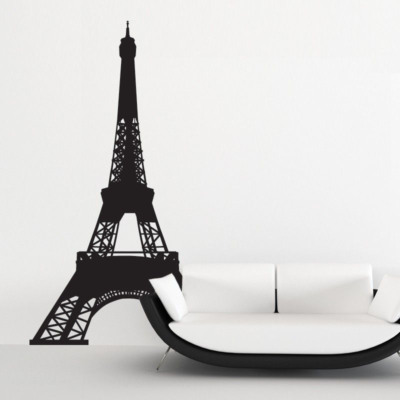 stickers tour eiffel stickers villes pinterest stickers et villa. Black Bedroom Furniture Sets. Home Design Ideas