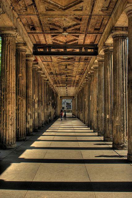 Saulengang Alte Nationalgalerie Portico Alte Nationalgalerie Berlin City Berlin Photos Berlin Germany