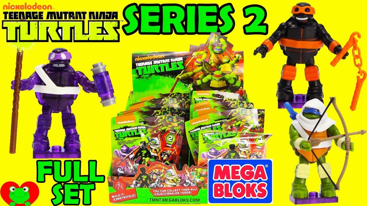 Teenage Mutant Ninja Turtles Mega Bloks Blind Bags Series