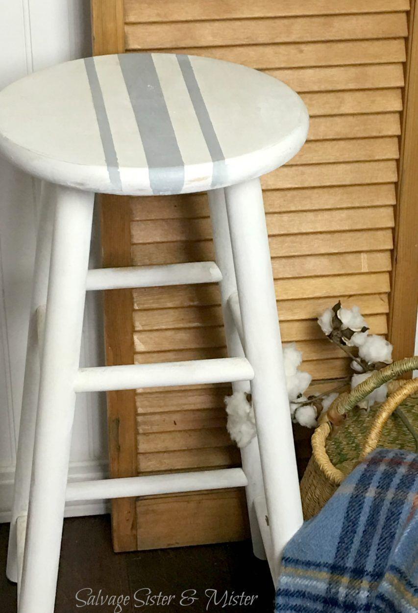 Diy farmhouse barstool farmhouse stools diy home decor