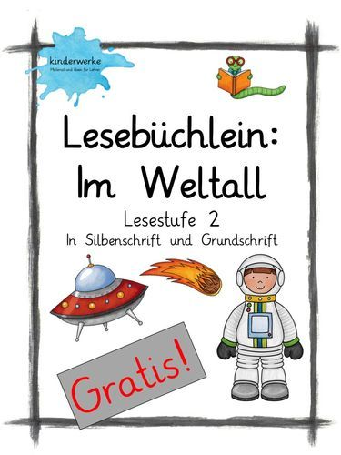 Büchlein im Weltall – Unterrichtsmaterial in den Fächern DaZ/DaF & Deutsch