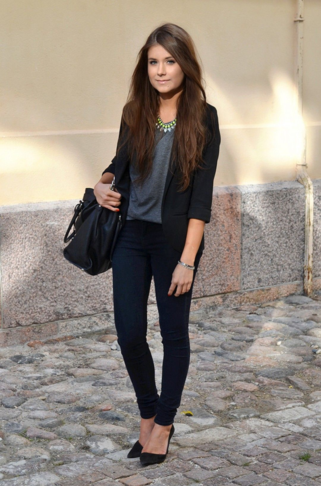 e58c86e94d cool 60+ Simple and Perfect Interview Outfit Ideas. vestimenta formal mujer  ...