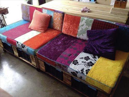 Divano Bancali ~ Cuscini divani in pallet facile fare il divano in pallet ma i