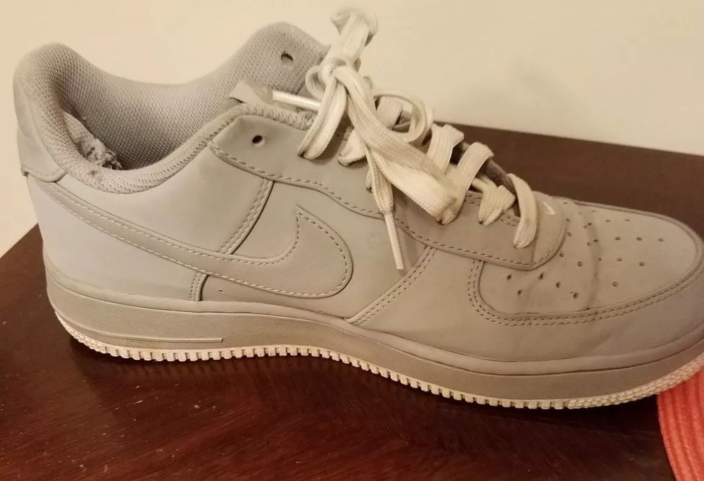 Nike Air Force One Low Men's Used Grey Shoes Size 10 ...