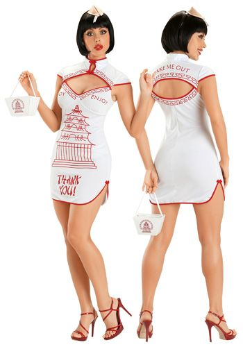 bf73157596a5 Sexy Chinese Takeout Costume Food Costumes, Adult Costumes, Costume Ideas,  Sexy Halloween Costumes