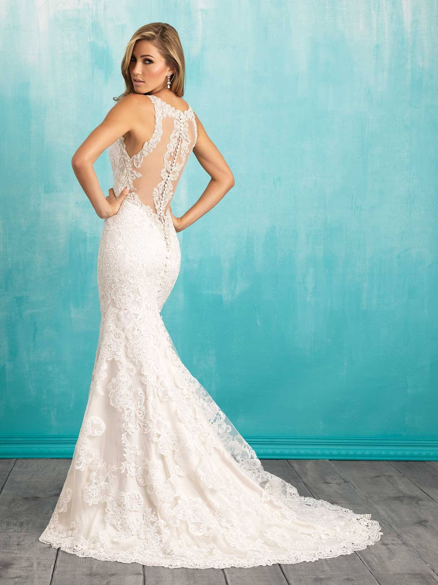 Beth Carter Bridal 324 E Huntingburg In 47542 812 683 3777 Www Bethcarter Us Allure Bridal Wedding Dress Sheath Wedding Dress Lace Allure Bridal [ 1985 x 1488 Pixel ]