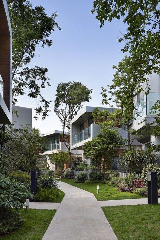 Gallery Of Peace Creek Villas John Friedman Alice Kimm Architects 26 House Designs Exterior Modern Architecture House Modern House Design