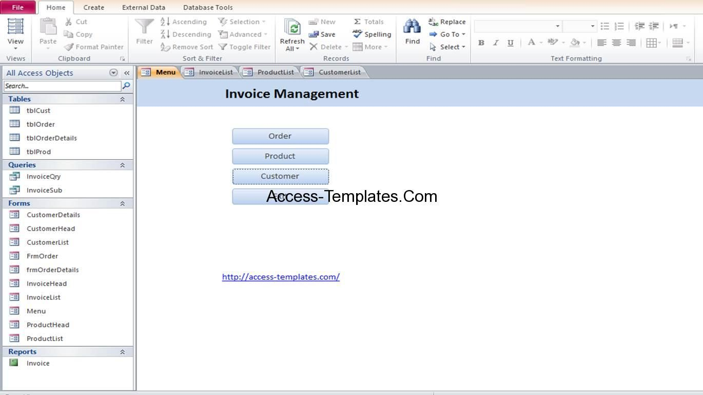 Microsoft Access Travel Agency Database Templates Microsoftaccess Http Www Blueclaw Db Com Database Design Invoice Template Editable Lesson Plan Template