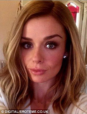 Katherine Jenkins dyes hair darker to mark \'new chapter in her life ...