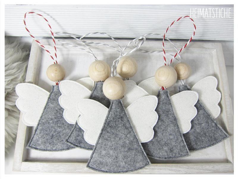 ITH Engel Anhänger #adventsgesteckeideen