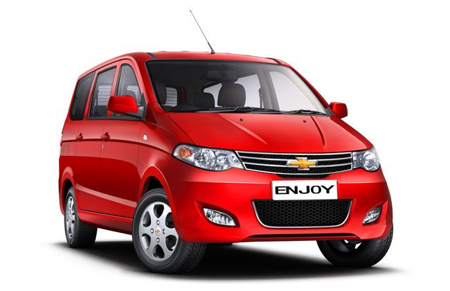 Chevrolet Enjoy Mpv Launching Soon Official Pictures Revealed