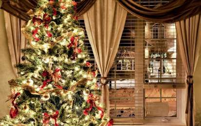 Addobbi Natalizi Pinterest.Le Ville Addobbate Per Natale Piu Belle Di Pinterest Cerchi Ispirazioni Per Decorare La Tua Casa Sc Idee Per L Albero Di Natale Fotografia Di Natale Addobbo