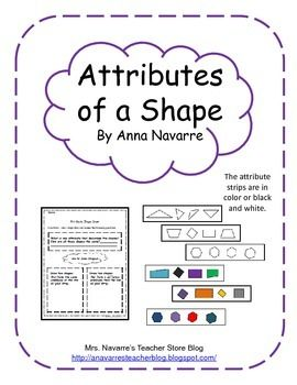 attributes of a shape activity common cores activities and students. Black Bedroom Furniture Sets. Home Design Ideas