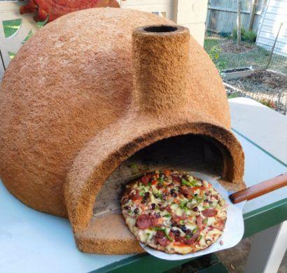 four pizza ext rieur bricolage four a pizza. Black Bedroom Furniture Sets. Home Design Ideas