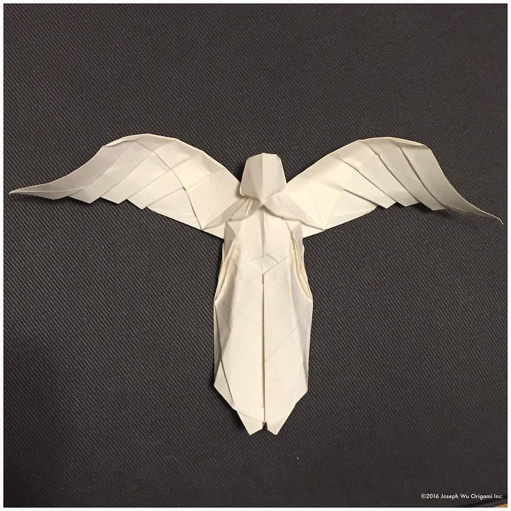 Origami angel by neal elias folded by gilad aharoni christmas origami angel by neal elias folded by gilad aharoni christmas pinterest origami angel and oragami jeuxipadfo Image collections