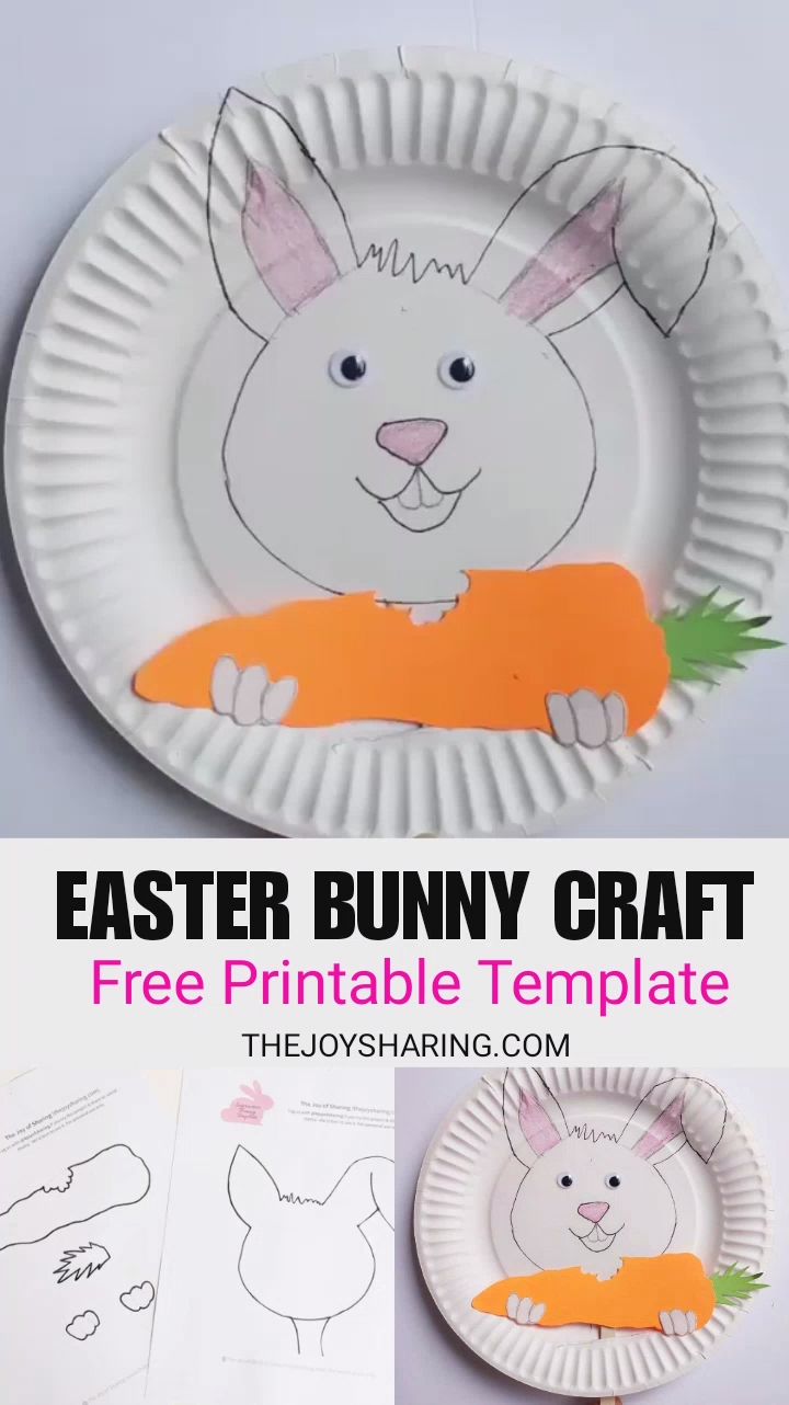 Easter Bunny Craft #craft
