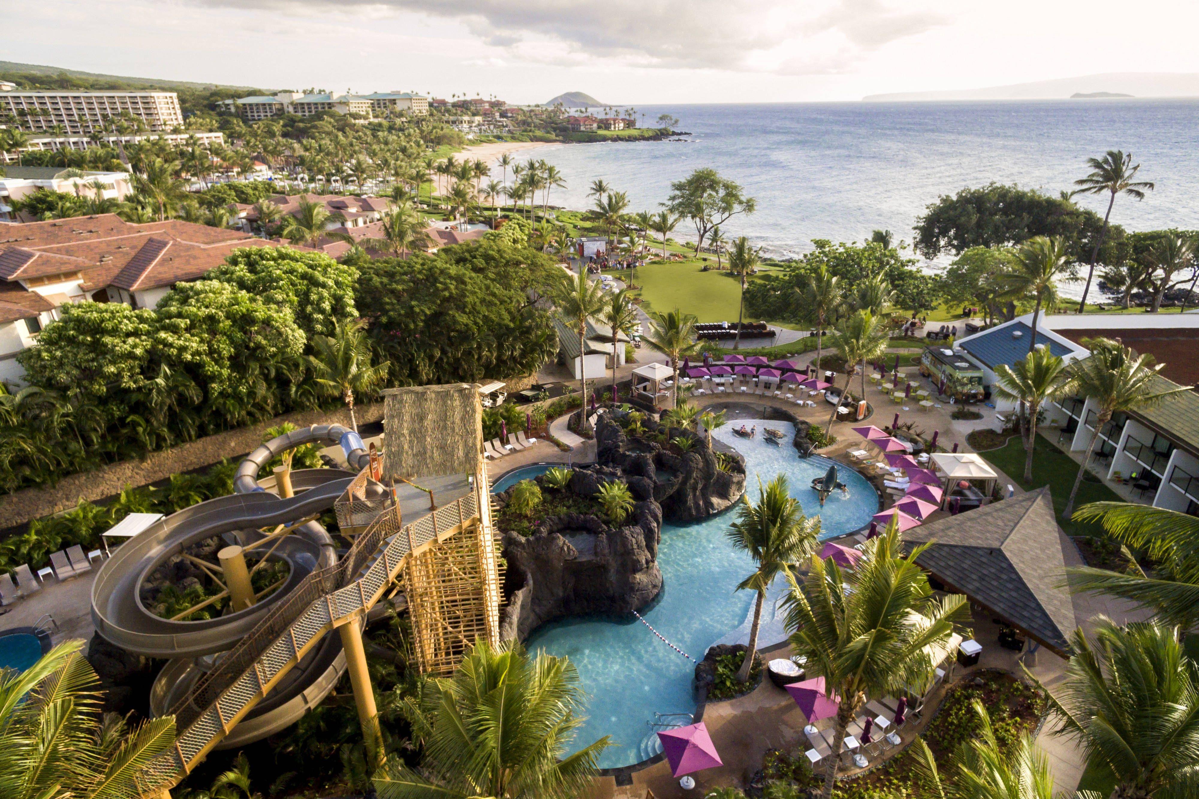 Wailea Beach Resort Marriott Maui Nalu Adventure Pool