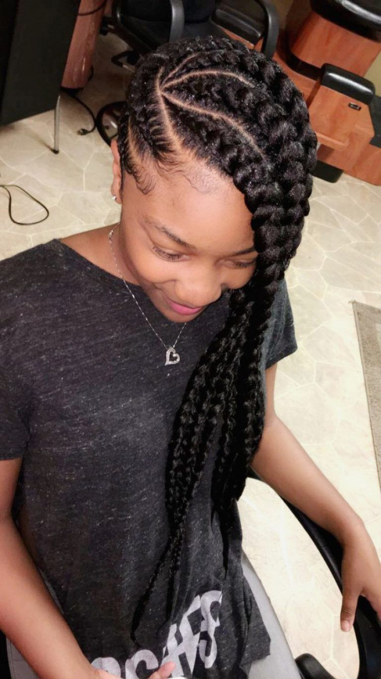 black hairstyles : simple black cornrow hairstyles photos