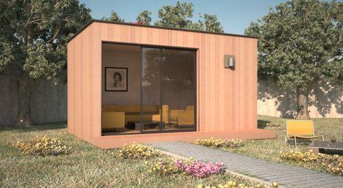 Studio de jardin capri bureau de jardin polyvalent cabane