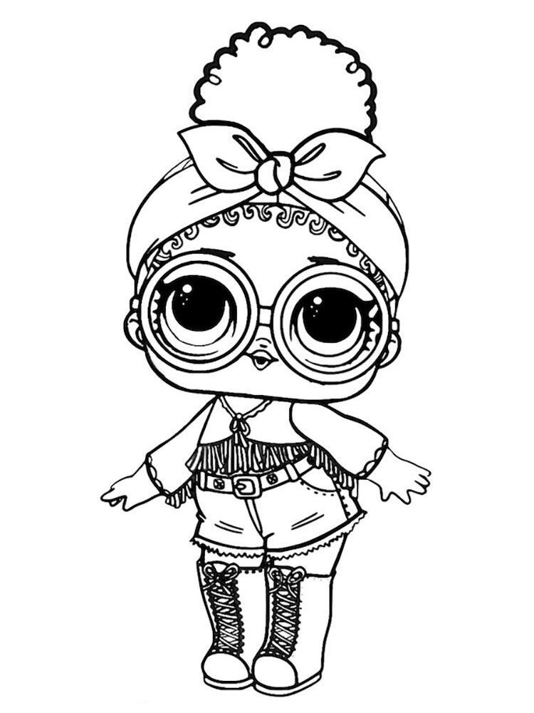 Pin By Pat M On Dibujos Lol Dolls Lol Coloring Pages