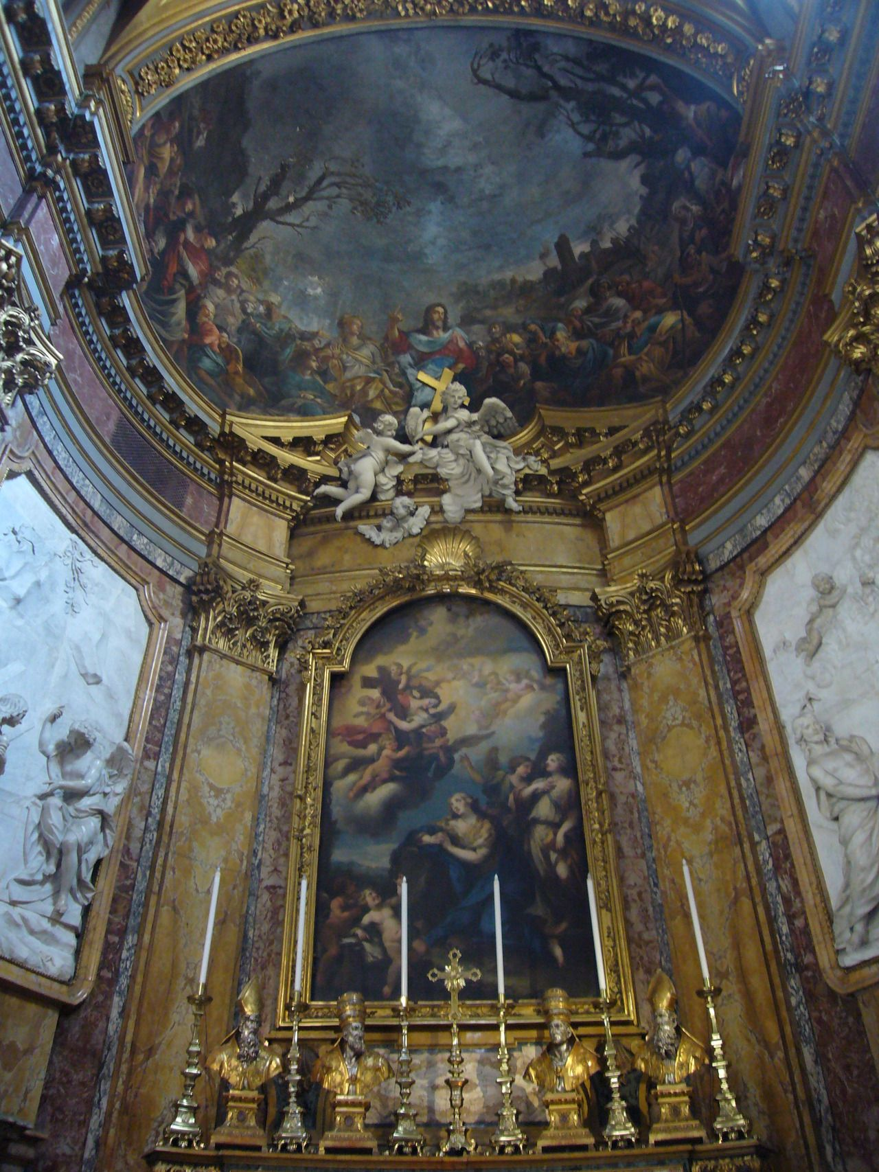 Photo: The Santa Maria Maddalena is a Roman Catholic church in Rome, named after Saint Mary Magdalene. The Order of Saint Camillus de Lellis had a church at that location in Rome since 1586 and in the 17th century started the construction of the current church, which was completed in 1699 in the Baroque style.
