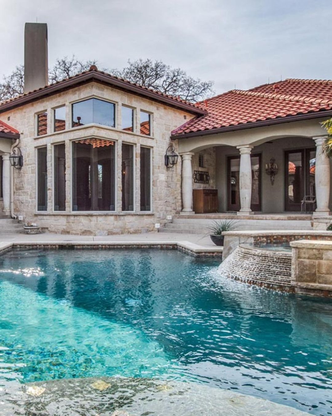 One Of A Kind Mediterranean Home By Architect Builder Neil Digiammatteo Listed By Nancy Dennis Brigg Luxury Homes House And Home Magazine Luxury Realtor