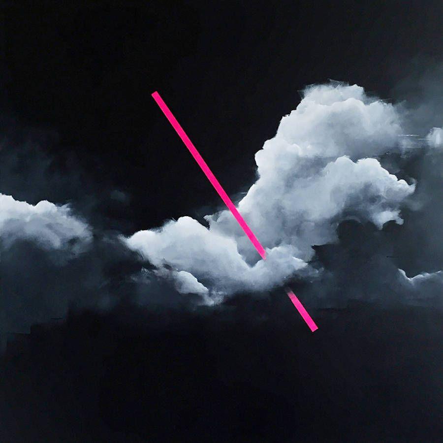 Dreamy Pink Clouds Paintings  Fubiz Media